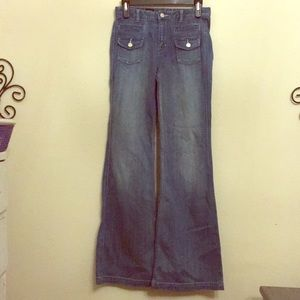 Quality Denim x2 high waist wide leg size 0